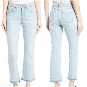 Derek Lam | Gia Midrise Cropped Flare Jeans Sz.27
